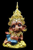 Hinduski ganesha ganesha dzieciak fotografia royalty free