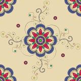 Hinduski mandala wzór Obrazy Stock