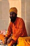 Hinduski Sadhu Obraz Royalty Free