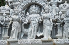 Hinduskich bóstw statua w Batu Jaskiniowy Malezja Obrazy Stock