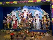 Hinduskie boginie & x28; DEVI DURGA& x29; zdjęcie stock
