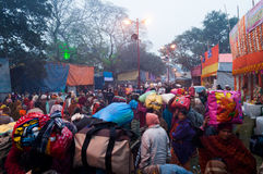 Hinduskie dewotki, Babughat, Kolkata Fotografia Royalty Free