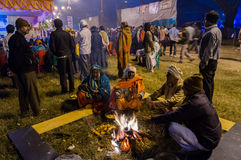 Hinduskie dewotki, Babughat, Kolkata Zdjęcia Royalty Free