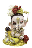 Hinduskiego bóg Ganesha tajlandzka suknia obraz royalty free