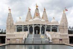 Hinduskiej świątyni BAPS Shri Swaminarayan Mandir w Houston, TX zdjęcie stock