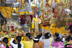 Hinduskiej świątyni nr Ubud Zdjęcie Stock