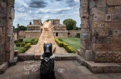 Hinduskiej świątyni wejście - horyzontalna orientacja Obrazy Stock