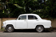 The Hindustan Ambassador Stock Images