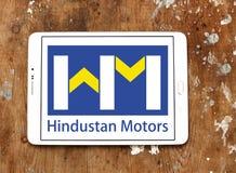 Hindustan viaja de automóvel o logotipo Imagens de Stock