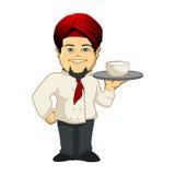 hindy的厨师 免版税库存照片