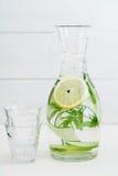Hineingegossenes Wasser Lizenzfreies Stockbild
