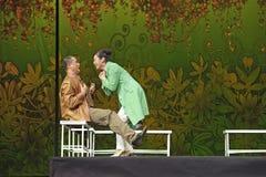 Hinese Suzhou Burlesque Drama performer Stock Photo