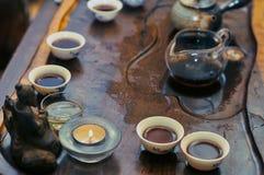 Сhinese tea ceremony Royalty Free Stock Photos