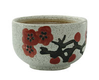 сhinese tea cup. On a white background Stock Image