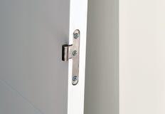 Hinge of the new door Stock Photography