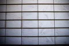 Hinged aerated facade made of marble Stock Photography