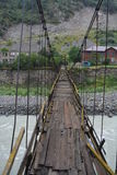 Hinged bridge Royalty Free Stock Photography