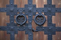 Hinged Door Stock Photography