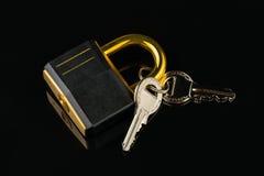 Hinged lock Stock Photo