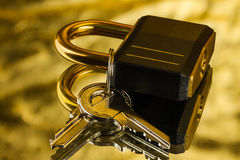 Hinged lock Stock Photography