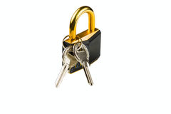 Hinged lock Stock Image