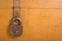 Hinged lock Royalty Free Stock Image