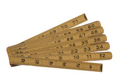 Hinged Ruler Royalty Free Stock Image