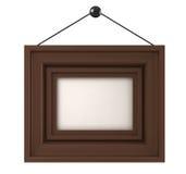 Hinging photo-frame. Stock Photo