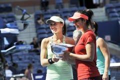 Hingis Martina Mirza Sania US Open 2015 (134) Royalty Free Stock Images