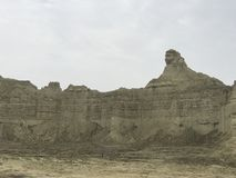 Hingol National Park - Pakistan. Kund Malir located in Balochistan nearly 300 km away from Karachi. Attractions include Princess of Hope, live mud volcano and Royalty Free Stock Image