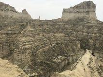 Hingol nationalparkMakran sydvästligt Baluchistan landskap arkivfoton