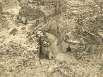 Hingol park narodowy Blisko Kund Malir plaży, Beludżystan Obrazy Royalty Free