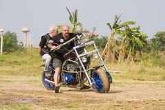 hinhua för 2010 cykel vecka Arkivfoto