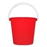 hink isolerad plastic red Royaltyfria Foton