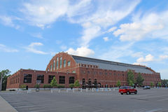 Hinkle Fieldhouse on the Butler University campus Stock Images