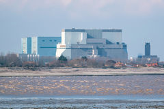 Hinkley-Punkt-Atomkraftwerk Somerset, Großbritannien Stockbilder