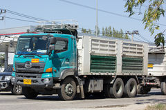 Hino Cargo Truck of Thep Pradit Transport Stock Photo