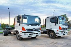Hino 500 Series royalty free stock image