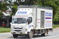 HINO Trailer truck, container. Stock Photos