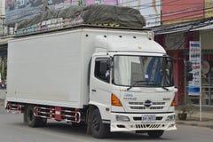 HINO Trailer truck, container. Stock Photo