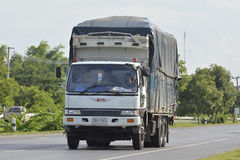 HINO Trailer truck, container. Stock Photography