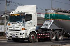 Hino Victor 500 Trailer Truck of Sripornkit Watthana Transport Stock Photography