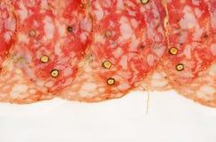 Hinojo italiano del salami Imágenes de archivo libres de regalías