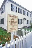 Hinsdale and Anna Williams House, Deerfield, Massachusetts Royalty Free Stock Photography