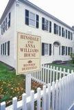 Hinsdale y Anna Williams House, Deerfield, Massachusetts Fotografía de archivo libre de regalías