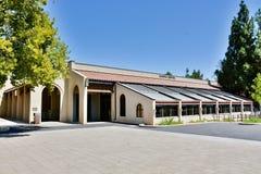 Hinson kampusu centrum przy De Anza Szkoła wyższa, Cupertino fotografia stock