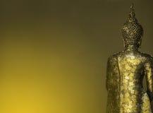 Hinter Buddha-Statue Lizenzfreie Stockfotos