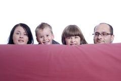 Hinter Couch Lizenzfreie Stockfotos