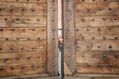 Hinter der Tür Lizenzfreie Stockbilder