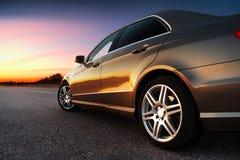Hinter-Seite Ansicht des Autos Lizenzfreies Stockbild